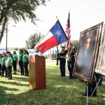 Unveiling for the Revitalization of Bruni Plaza, Dec. 16, 2015